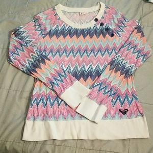 Roxy Multicolor Long Sleeve Shirt